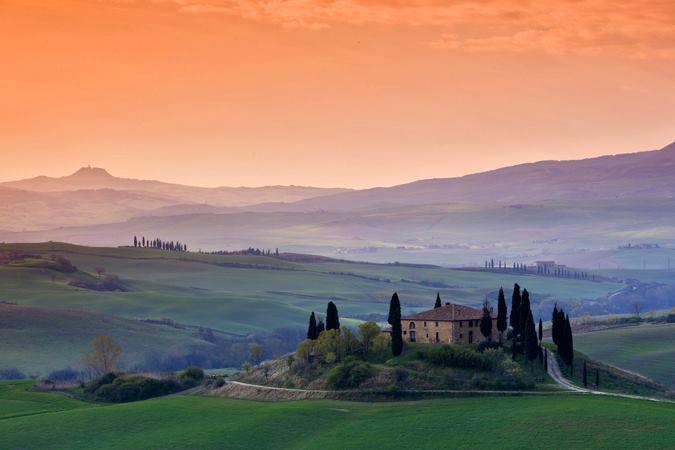Sunrise Over Tuscany - Italy.jpg